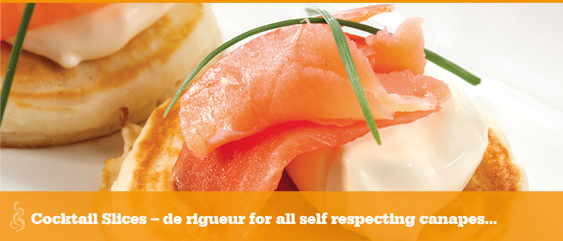 Prime smoked salmon, delicious for all canapes