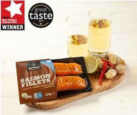 Our award winning Ginger, Chilli & Lime Salmon Infusions